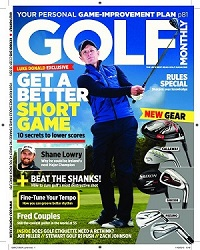 Golf Monthly October Cover