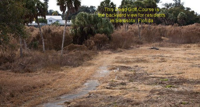 Closed Golf Courses Causes Huge Drop In Property Values