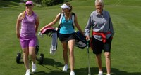 Part of the 10 Million: She's a $35 Billion Boost to the Golf Course Business!