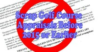 Scrap Golf Course Appraisals Before 2015