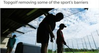 Top Golf Removing Some of the Sports Barriers